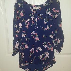 A Blouse With Flowers